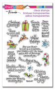 Stampendous Clear Stamps, Holiday Expressions