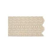 70cm Vislon Zipper ~ YKK #5 Moulded Plastic ~ Separating - 573 Beige
