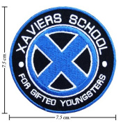 X-men Xaviers School Logo Ii Embroidered Sew Iron on Patches Great Gift for Dad Mom Man Woman