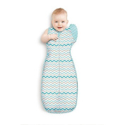 Love to Dream Swaddle UP 50/50 Lite, Multi Stripe, Large, 8.4-11kg