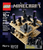 LEGO Minecraft Micro World - The End (440pcs) Figures Building Block Toys