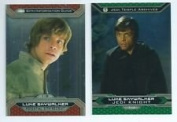 2015 Star Wars Chrome Perspectives Jedi vs. Sith trading card set - 100 cards