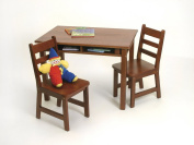 Child's Table & 2 Chairs, Cherry