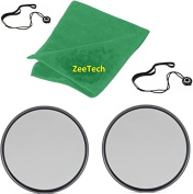 2pcs 52mm ZeeTech Circular Polarizer CPL Filter + ZeeTech Microfiber Cleaning Cloth + 2pcs Cap Keepers for Nikon Digital SLR Camera Lenses That Have 52mm Thread