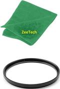 52mm ZeeTech UV Ultraviolet Lens Filter + ZeeTech Microfiber Cleaning Cloth for Nikon Digital SLR Camera Lenses That Have 52mm Thread