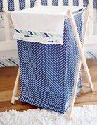 My Baby Sam Follow Your Arrow Hamper, Navy