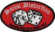 Application Social Distortion Logo Patch