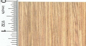 Dollhouse Flooring 1:48 Scale Light Oak Plank