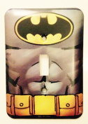 DC Comics Batman Muscle Wall Light Switch Cover