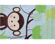 Jungle Mania Kids Rug Rug Size