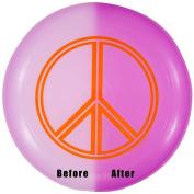 Wham-o - Peace Sign Uv Reactive U-max Frisbee