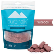 Pur Chalk | #1 Best Climbing Chalk | Coloured Rock Climbing Chalk | 100% Natural Chalk Powder | Eco- Friendly | Safe for Indoor & Outdoor Use | Gym , Workout & Weight Lifting Loose Chalk | 100% Pure Magnesium Carbonate | Non-staining | Non-toxic | 100% ..