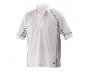 Grey Nicolls Ice Ivory Maroon Trim Cricket Shirt