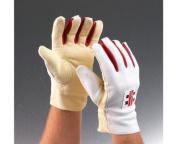 grey-NICOLLS Chamois Padded Wicket Keeping Inner Gloves