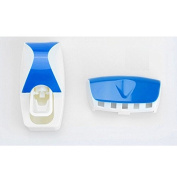 Toothpaste Dispenser Automatic - Toothpaste Squeezer - Toothbrush Holder