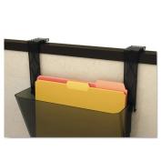 deflect-o - Plastic Partition Brackets, Set of Two, Black 391404 (DMi ST