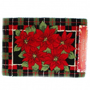 Nourison Holiday Decor Christmas Print Rug 50cm x 80cm