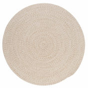 Tremont Round Area Rug, 1.8m by 1.8m, Natural
