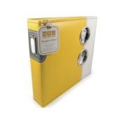 We R Memory Keepers Designer 3-Ring Album - 30cm x 30cm , Yellow Submarine