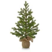 Hallmark Christmas LPR2402 Tabletop Evergreen Tree