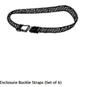 Trampoline Enclosure Buckle Straps (Set of 6)- OEM Equipment