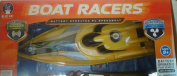 Boat Racers battery operated RC speedboat, Dual Propeller, Assorted Colours