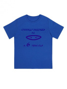 """Cunningly Desguised as a 6 Year Old"" - Unisex Ninja Eyes Birthday T Shirt Gift"
