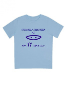 """""""Cunningly Desguised as an 11 Year Old"""" - Unisex Ninja Eyes Birthday T Shirt Gift"""