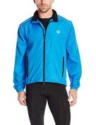Canari Cyclewear Men's Razor Convertible Jacket, Breakaway Blue, Medium