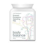 BODY BALANCE PREVENT EXCESSIVE SWEATING PILLS ANTI-SWEAT