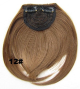 Fashion Hair Bang Two Side Long Synthetic Fringe Hairpiece with Hair Band Hair Extensions Clip In/on Hair Extensions Side Hairpieces Accessories Look Like Human Hair 33colors U Pick Middle 16 Cm Length,two Long Side 22 Cm,30g