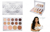 BH Cosmetics Carli bybel 14 colour eyeshadow & highlighter palette