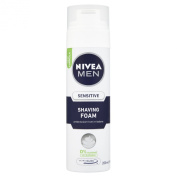NIVEA MEN Sensitive Shaving Foam 200ml Pack of 6