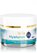 HYALURON FUSION by Delia - 40+ Anti-Wrinkle - Intensive Moisturising Day and Night Cream - 50ml