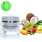 Collagen Retinol Rejuvenating Firming Moisturiser With Hyaluronic Acid Vitamin C Argan Oil & Marine Collagen 30 ml