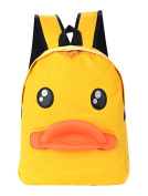 Small Yellow Duck Bags Canvas Backpack Schoolbags Travel Bag Large Capacity Backpack