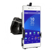 Bicycle mount for Sony Xperia Z3+ - keeps your mobile phone positioned securely!