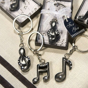 Fashioncraft Women's Musical Note Key Chain Favours