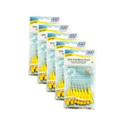 TePe 0.7 mm Size 4 Original Interdental Brush - Pack of 5, Total 40