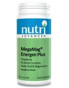 Nutri Advanced MegaMag Energen Plus - Raspberry Flavour - 225g