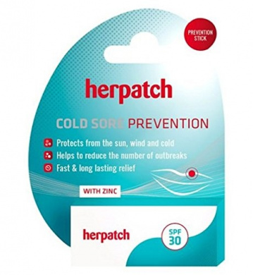 Herpatch Cold Sore Prevention Lip Balm
