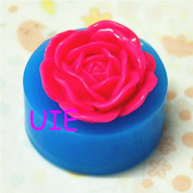 095LBH Bright Flower Silicone Flexible Push Mould Scrapbooking Mould Mini Resin Mould Decoden