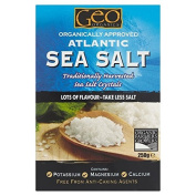 Geo Organics Atlantic Sea Salt 250g