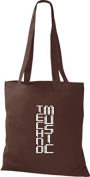 ShirtInStyle Fabric Music Bag Techno Music Cotton Bags, various colours