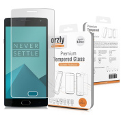 Orzly® - Glass Screen Protector for OnePlus 2 - Premium Tempered Glass Oleophobic Screen Guard made specifically for use with the ONE PLUS TWO SmartPhone