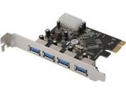 4-Port USB 3.0 PCI Express Add-on Card