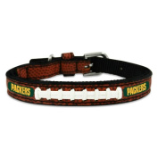 NFL Green Bay Packers Leather Dog Collar