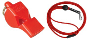 Fox 40 Classic Official Whistle with Break Away Lanyard