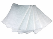 White Cotton Bar Mops, Terry Towels, Wiping Rags, 41cm X 48cm