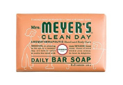 Mrs. Meyers Bar Soap Hard 160ml Geranium Scent, Pack of 12